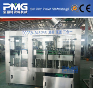 Automatic Carbonated Beverage Filling Machine for Glass Bottle pictures & photos