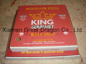 Locking Corners Pizza Box for Stability and Durability (Pizza--058) pictures & photos