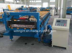 Trapezoidal Profile Steel Structure Roll Forming Machine pictures & photos