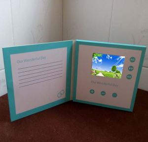 4.3inch LCD Screen Video Player Brochure pictures & photos