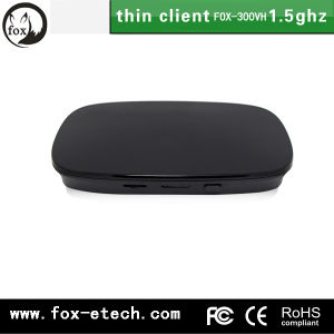 Hot Cloud Terminal Thin Client Net Computer Fox-300hv Embedded Linux 2.6 OS Dual Core 1.5GHz Processor pictures & photos
