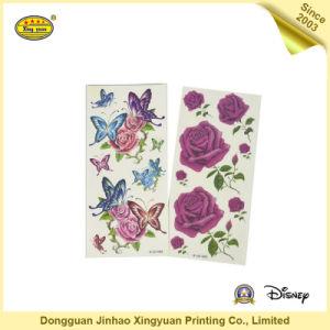 Flowers Style Metallic Flash Tattoo Sticker (JHXY-TT0020)