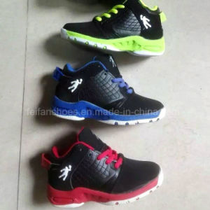 New Style Cheap Children Sneaker Basketball Shoes (FF Y2016 -3) pictures & photos