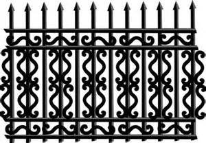 Professional Manufacturing Wrought Iron Security Garden Fence pictures & photos