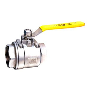 2PC Stainless Steel Threaded End Ball Valve pictures & photos