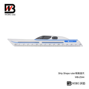 Color Ship Shape Drawing Ruler 2016 Office Stationery Supply