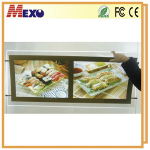 Light Box Hanging Restaurant Fast Food LED Menu Board pictures & photos