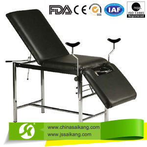 Hospital Stainless Steel Gynecology Delivery Bed (CE/FDA/ISO) pictures & photos