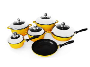 Nonstick Cast Aluminum Cookware Set