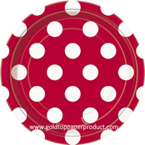 Professional Dinner Paper Plates Manufacturer China pictures & photos