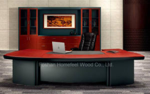 Traditional Office Furniture Executive Desk (HF-LTA005) pictures & photos