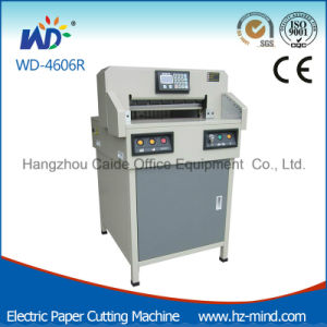 2016 New Manufacturer 18 Inch Program-Control Paper Cutting Machine (WD-4606R) pictures & photos