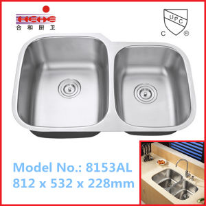 3221 Undermount Kitchen Sink, Stainless Steel Sink, Bar Sink, Wash Sink with Cupc Approved pictures & photos