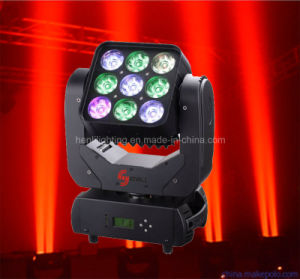 9*10W 4in1 LED Stage Moving Head Matrix Light (HL-001BM) pictures & photos