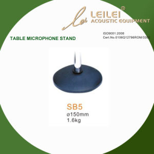 Ajustable Table Microphone Stand Base (SB5) pictures & photos