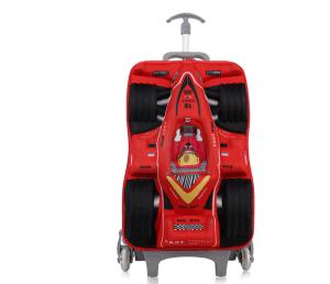 3D EVA Kids School Bag with Wheels, EVA Trolley Bag Kids Luggage pictures & photos