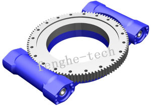 Open Type Slewing Drive with Worm Gear