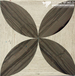 Mixed Waterjet Cutting Marble Medallion for Flooring/Paving/Lobby Tiles (mm-006) pictures & photos