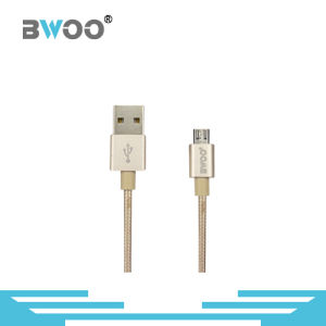 Hot Selling Nylon Braided USB Cable for Lightning/Micro/Type-C Pin pictures & photos