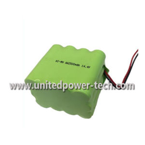 14.4V AA 2500mAh NiMH Battery Pack pictures & photos