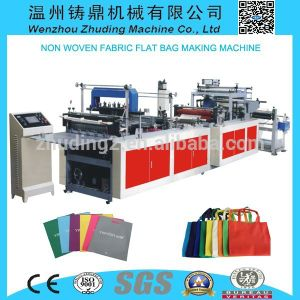High Speed Automatic Shopping Bag Making Machine Price pictures & photos