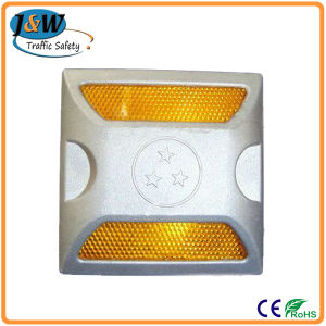 Waterproof Double Lens Aluminum Reflective Solar Road Stud pictures & photos