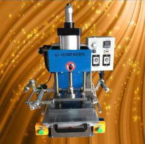 Automatic Pneumatic Leather Hot Embossing/Hot Foil Stamping/Engraving Machine (ZH-125) pictures & photos