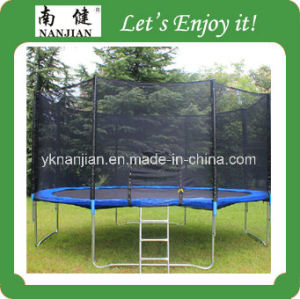 Large Indoor Trampoline Tent/Big Round Trampoline with Safety Net pictures & photos