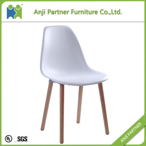 White Fashionable and Unadjustable PP Seat Indoor Dining Chair (Hermosa) pictures & photos