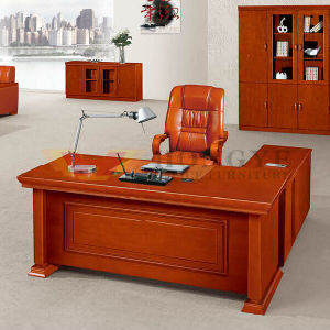 Rosewood Veneer Office Executive Wooden Desk (HY-NNH-K04-18) pictures & photos