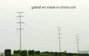 220kv Transmission Galvanized Steel Pole