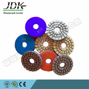 100mm Floor Renovation Polishing Pad with Hook & Loop Backed pictures & photos