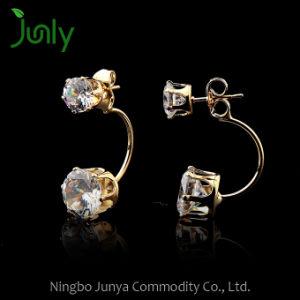 Cheap Beautiful Drop Jewelry Earrings Gold Fashion Earring pictures & photos