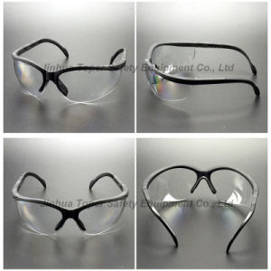Adjustable Temples Safety Glasses with Soft Pad (SG107) pictures & photos