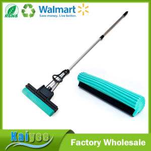 Super Absorbent Professional Double Roller PVA Sponge Foam Mop pictures & photos