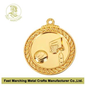 Award Souvenir Basketball Match Medal, Top Quality Medallion