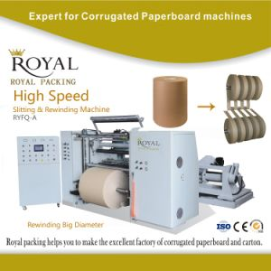 High Speed Slitting and Rewinding Machine with Ce Certificate pictures & photos