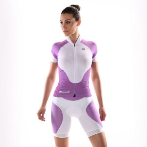 High Quality Printing Women Cycling Clothes Fitness Wear Bike Jersey pictures & photos