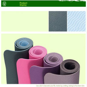 Eco Friendly Natural Rubber Yoga Mat 16mm pictures & photos