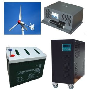 High Quality 1kw 2kw 3kw 5kw off Grid Solar Wind Hybrid Power System pictures & photos