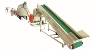 Pet Plastic Bottle Flake Recycling, Cleaning Line (GFE311) pictures & photos