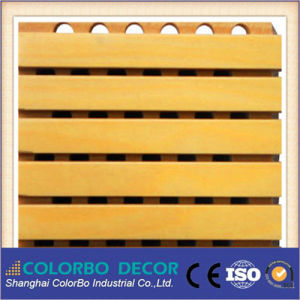 Wood Timber Strips Wooden Wall Acoustic Panel pictures & photos
