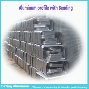 Aluminium Profile with Bending Drilling Punching for Trolley Case pictures & photos
