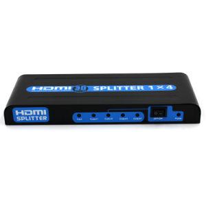 1X4 HDMI Splitter (3D, 1080P) pictures & photos