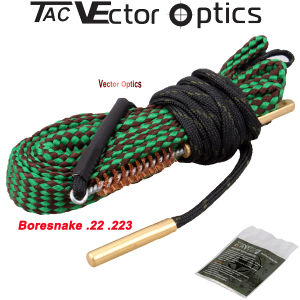 Vector Optics Boresnake / Bore Snake. 22.223 Rifle Barrel Gun Cleaning / Cleaner Kit with Bronze Brush Gun Oil pictures & photos