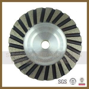 Aluminium Diamond Cup Grinding Wheel for Concrete Granite Marble pictures & photos