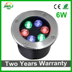 Two Years Warranty 6W RGB LED Underground Light pictures & photos