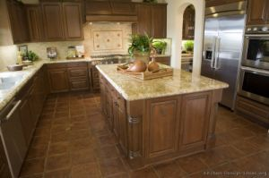 Dark Walnut Kitchen Cabinets (dw50) pictures & photos