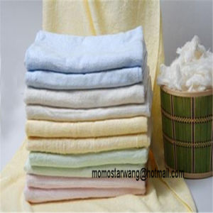 Soft Qualified Bamboo Bath Towel of Multi Colours pictures & photos