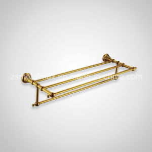 Stainless Steel Bathroom Wall Mounted Bar Towel Shelf (GJ005) pictures & photos